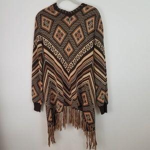 BKE Sweaters - BKE Gimmicks Southwestern Cardigan Sweater Small